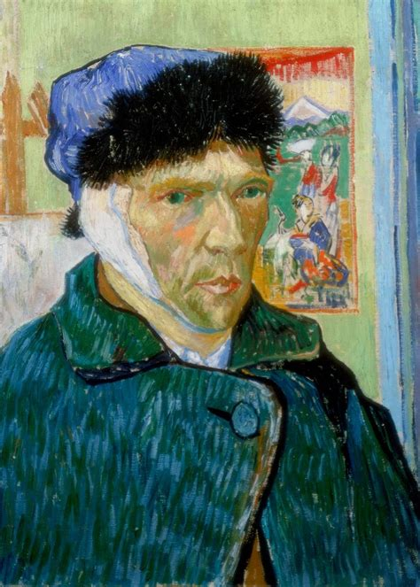 ear cut vincent gogh ear cut www imgkid the image kid has it