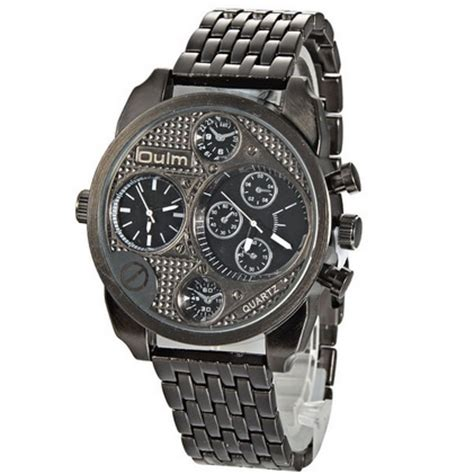 Jam Tangan Oulm Stainless Band Fashion 3221b 1 oulm jam tangan analog stainless steel 9316 black jakartanotebook