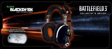 Razer Blackshark Battlefield 4 Collectors Edition razer blackshark expert 2 0 gaming headset battlefield 3 collectors edition rz blackshark bf3