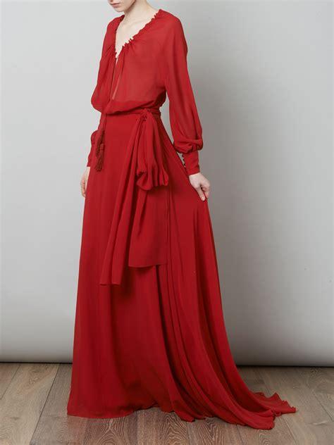 Flowy Baloon Sleeve Top laurent balloon sleeve length dress for