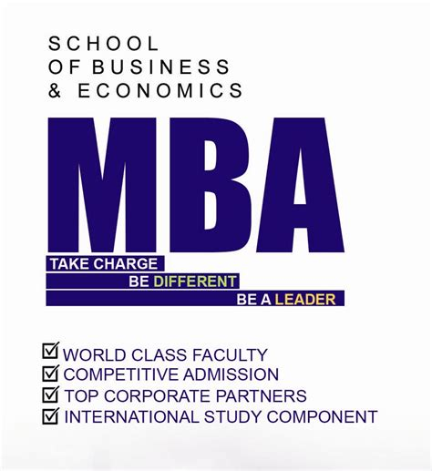 Http Business Gmu Edu Mba Program Admit by The Best Graduate Programs Pakistan Umt