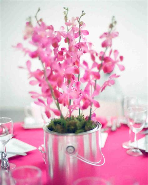 Flower Wedding Centerpiece by 37 Pink Wedding Centerpieces Martha Stewart Weddings