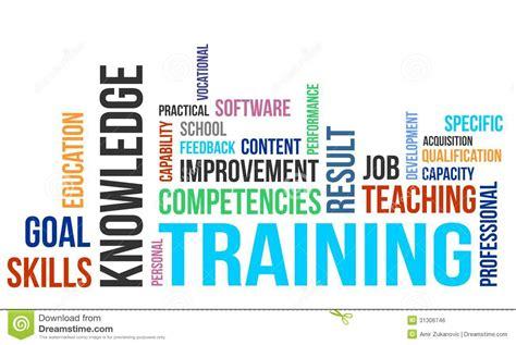 tutorial word xl word cloud training stock vector illustration of vector