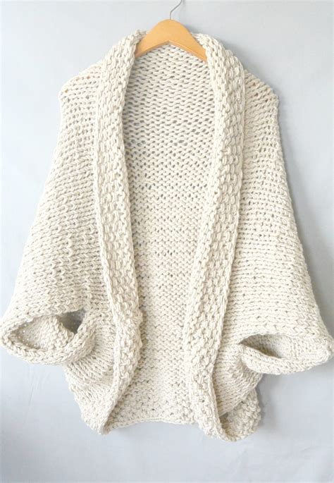 sweater knitting pattern easy knit blanket sweater pattern in a stitch