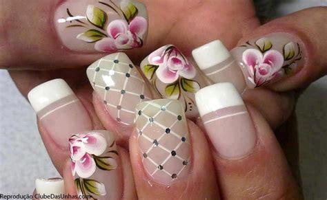 imagenes flores simples unhas decoradas com flores fotos e passo a passo