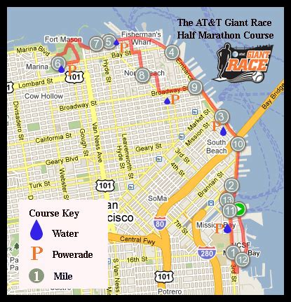 san francisco giants map the race course information san francisco giants