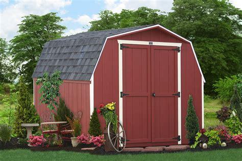 buy backyard wooden sheds  barns pa nj ny ct de md