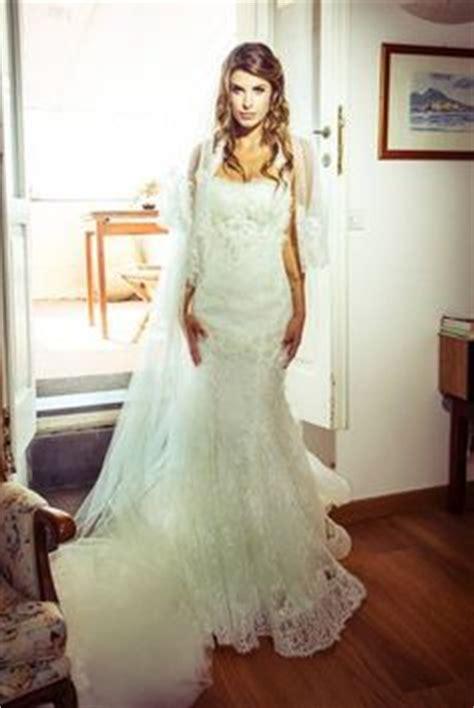 elisabetta canalis wedding dress weddingdress alessandroangelozzicouture