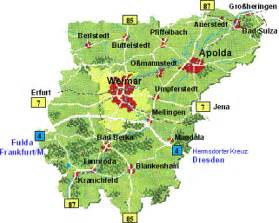 weimar map visit and explore the weimar region thuringia germany