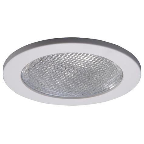 Bathroom Recessed Ceiling Lights Halo 951 Series 4 In White Recessed Ceiling Light With Lensed Shower Trim 951ps The Home Depot