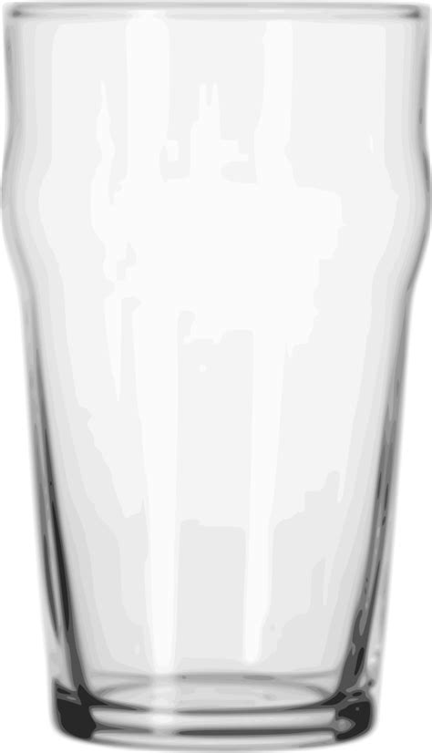 beer glass svg file pint glass pub svg wikimedia commons