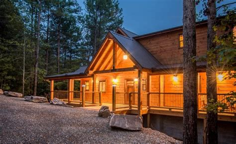 vacation cabin rentals broken bow lake cabin rentals 187 ridge spa cabin