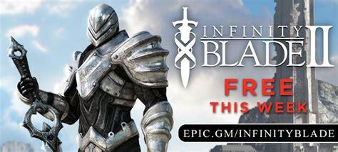 infinity blade play store infinity blade ii goes free as app store s free app