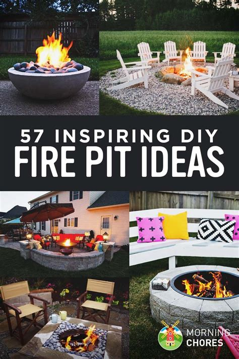 diy inspiring pit designs 51 awesome diy pit ideas make your own in backyard outdoor