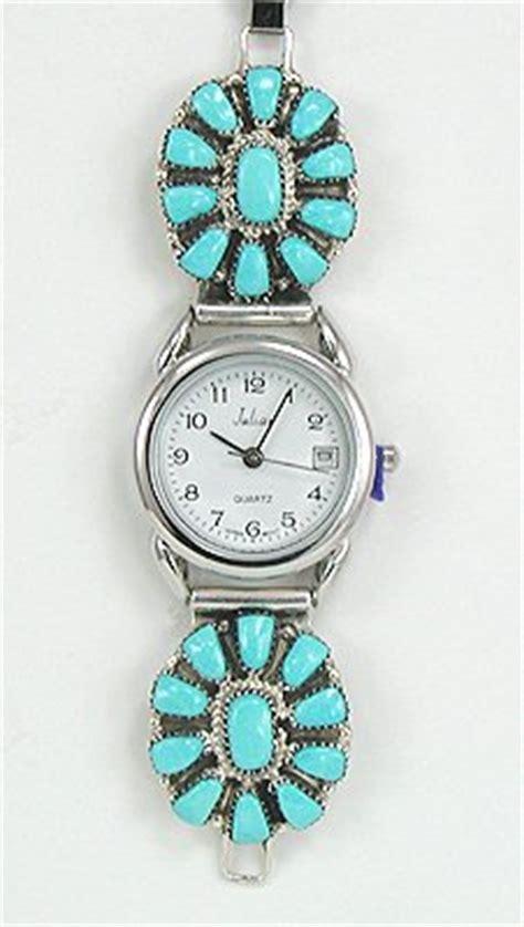 Handmade American Watches - american angela natacha zuni sterling silver and