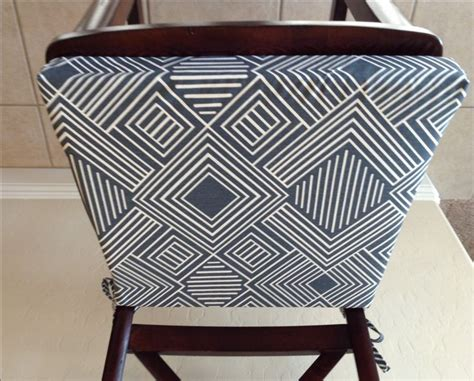 Bar Stool Fabric Covers by 25 Best Ideas About Kitchen Chair Pads On