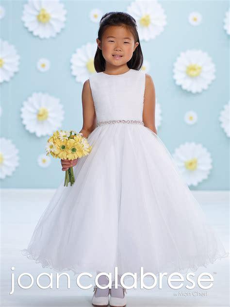 Sleeveless Satin and Tulle Tea Length A Line Dress 116391