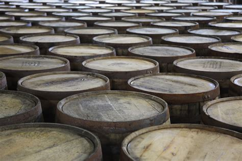 bourbon barrels for whiskey barrel selection with famed bar owner manager and
