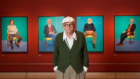 design academy eindhoven new york times david hockney takes a fresh look at portraiture the new