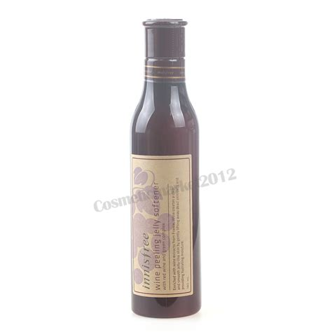 Innisfree Wine Jelly Peeling Softener innisfree wine peeling jelly softener 180ml free gifts ebay