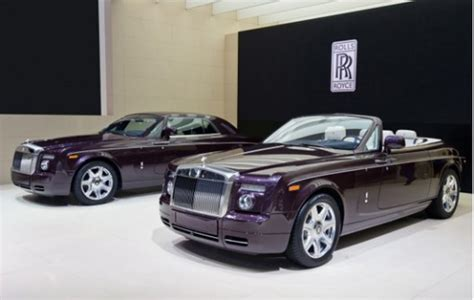 rolls royce phantom coupe and drophead coupe in zenith