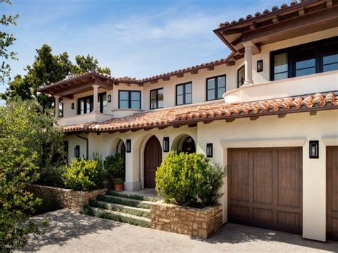 style home mediterranean style home exterior ranch style home