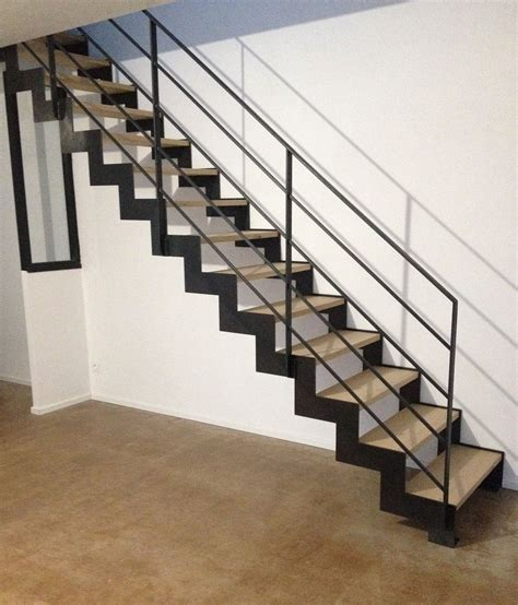 Escalier Droit Metal by Escalier M 233 Tal Avec Limon Lat 233 Raux Gamme Thep
