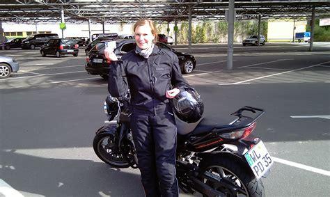 Motorrad F Hrerschein Hamburg by Nadine Hat Die Motorradpr 252 Fung Klasse A Bestanden