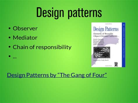 software design pattern chain of responsibility a series of fortunate events symfony c sweden 2014