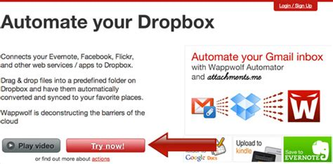 dropbox trial automate your dropbox files with actions hongkiat