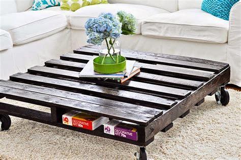 amazing diy pallet coffee table