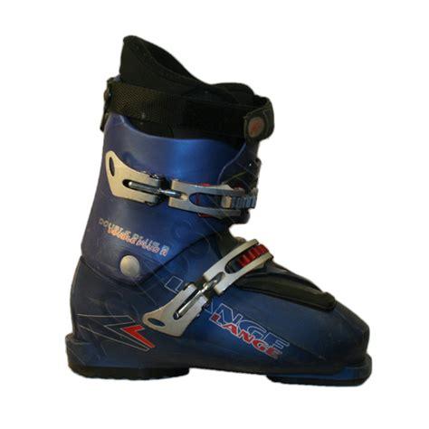 ski shoes used lange plus ski boots blue