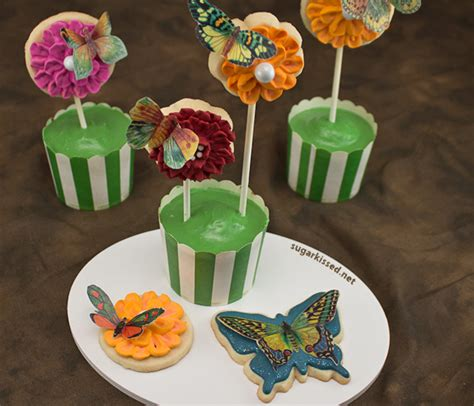 butterfly cookies made with wafer paper wafer paper butterfly cookies all