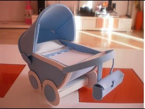 como hacer un librito de goma eva youtube como hacer un carrito de bebe de goma eva 1 170 parte youtube