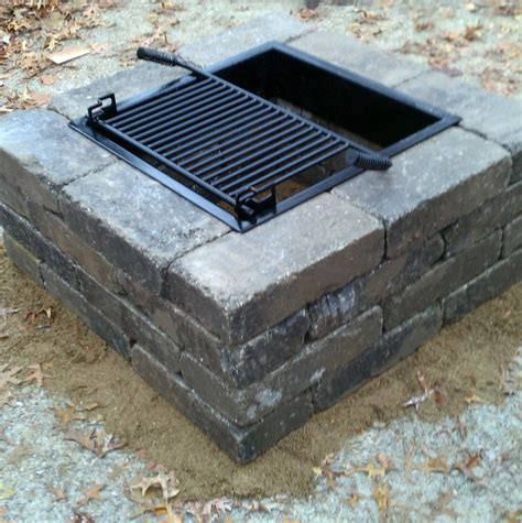 square firepit 17 best images about pits on pits