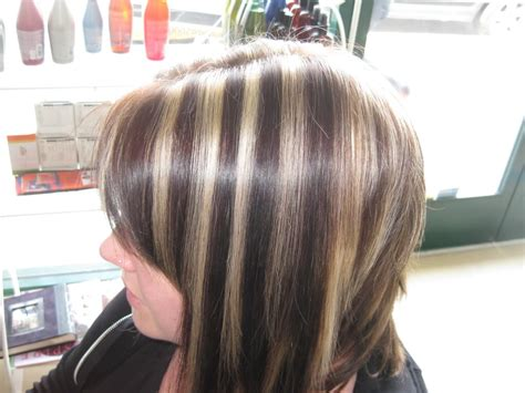 are chunky or thin highlights popular for 2015 highlighted hair grace to create