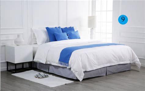 Handuk Hotel Linen Hotel Putih Stripe Sarung Bantal Pillow 50x75 selimut penutup lembaran datar sarung bantal tidur pelari tidur set sprei untuk hotel buy