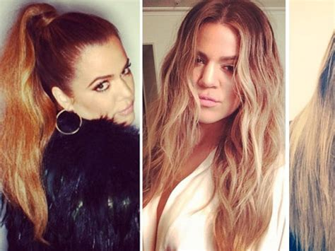 how to get khloe kardashian hair color 2014 how to get khloe kardashian hair color 2017 celebrity