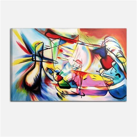 cuadros de kandinsky cuadro asbtracto pintado a mano kandinsky