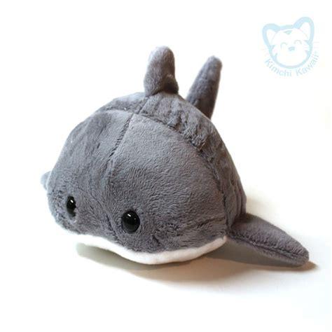 Shark Plushie handmade plush kawaii shark bun on storenvy