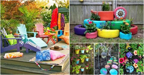 colorful decorating ideas colorful outdoor decor ideas you will absolutely love to see