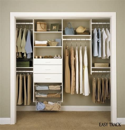 Closet System Components Giveaway Win An Easy Track Diy Closet Organization System