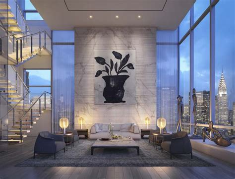 penthouse apartment new york luxury penthouse in new york by oda architecture