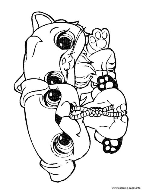 coloring pages of littlest pet shop dogs littlest pet shop puppy coloring pages coloring home