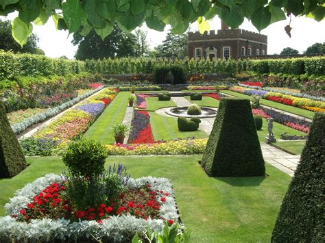 Palace Gardens by Hton Court Palace In Thousand Wonders