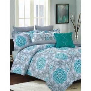 King Size Bedding Teal Bedding Comforter 7 King Size Bed Set Teal Blue And