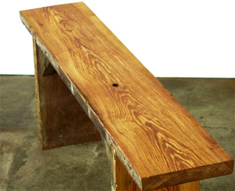 how to make a rustic bench woodworking classes chicago rustic bench making dabble