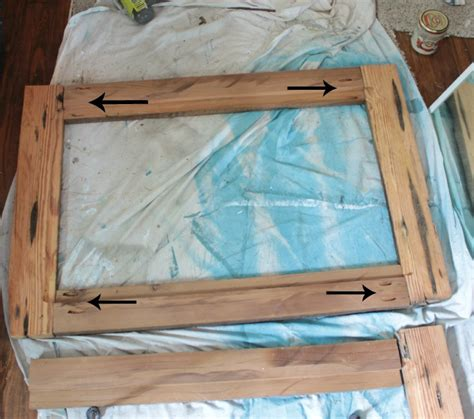 How To Make A Picture Frame Out Of Paper - upcycling idea diy reclaimed wood framed mirrors