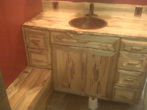 pine bathroom vanity beetle kill pine bathroom vanity and bench by k at