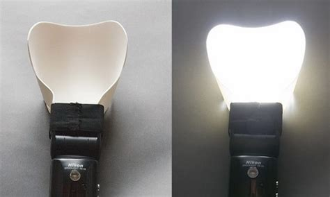 Diy Flash Bounce Card Template by Make A Effective Flash Diffuser From Craft Foam